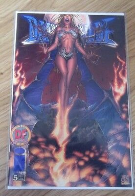DARKCHYLDE #5  DF Dynamic Forces Exclusive Alternate cover  COA Image Comic