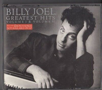 BILLY JOEL Greatest Hits Volume I & II 2-CD FAT BOX AUSTRIA