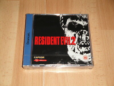 Resident Evil 2 By Capcom For Sega Dreamcast When 2 Discs New Factory Sealed