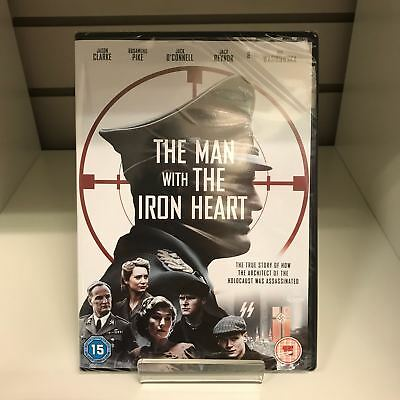 The Man With The Iron Heart DVD - New and Sealed Fast and Free Delivery