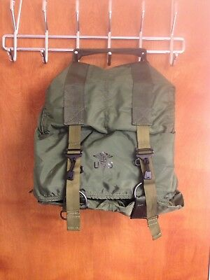Military Surplus M17 Us Tri Fold Medic Bag Backpack First Aid Army Medical Usa