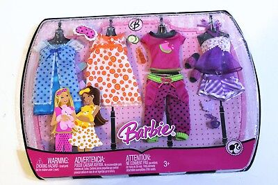 Barbie 2008 Clothing Gift Set Baby Doll Nightie Pajama Slippers NEW SEALED