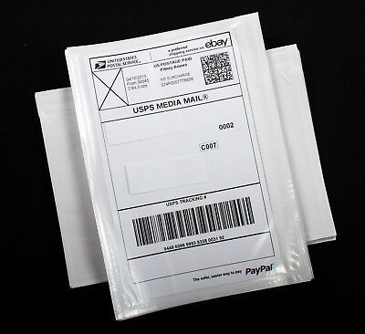 "200 Shipping Label Pouches Sleeves Envelopes Packing List 5.5"" x 7"" FREE SHIP"