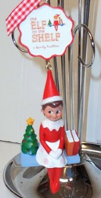 Elf On A Shelf Christmas Tree Ornament I'm a Girl