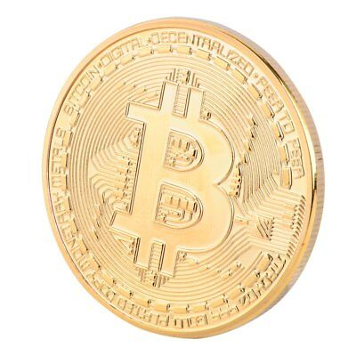 10Pcs Bitcoin Coin Bit Coin Commemorative Coin With Case Gift Collection Hot NEW