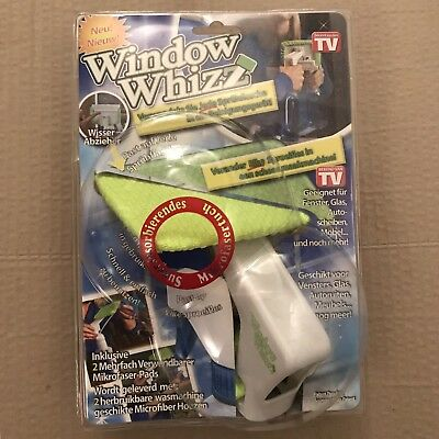 BELDRAY CORDLESS Window Cleaning Vacuum replacement wipes x3