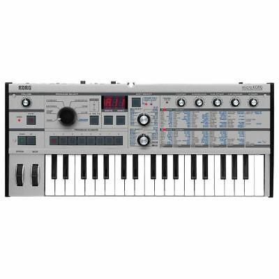 KORG MICROKORG SYNTHESIZER & Vocoder (limited edition platinum model)