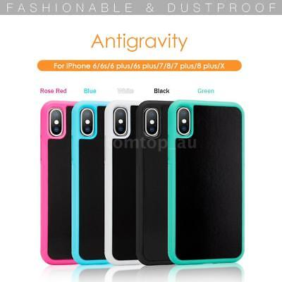 Antigravity Adsorbed Nano Suction Phone Protective Cover for iPhone X 8 7 6 A2L3