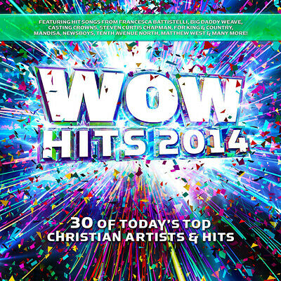 WOW Hits 2014: 30 of Today's Top Christian Artists & Hits  [2CD]  2013 ** NEW **