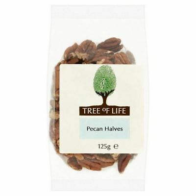 6x Tree of Life Pecan Nuts 125g