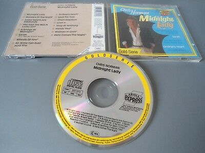 Cd Chris Norman - Midnight Lady - Ariola Express