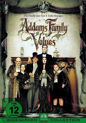 DVD - Die Addams Family in verrückter Tradition - Anjelica Huston & Raul Julia