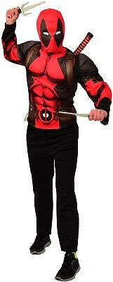 Deadpool Toy Sword Knives Kit Fancy Dress Comic Book Day Adults Costume Weapons
