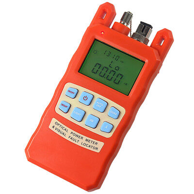 Optical Power Fiber Meter w/ 30mW Visual Fault Locator All-in-One -70~+10dBm