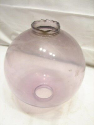 Amethyst Glass Lightning Rod Ball Sphere Globe Smooth Plain Weather Vane