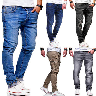 JACK & JONES Herren Jeans Hose,versch. Modelle Slim Fit & Straight Fit Chino NEU