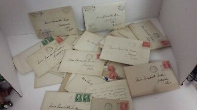 Antique Letters 40+ Hand Written Love Letters 1913 To 1919 World War 1