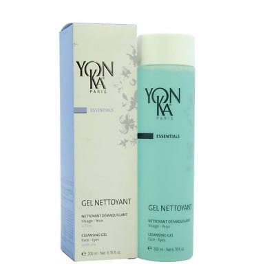 Yonka Gel Nettoyant Cleansing Gel For Face and Eyes 6.76 oz 200 ml.