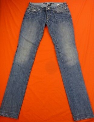 GUESS Jean Femme Taille 27 US - Modèle FOXY - Flare slim-stretch-taille 4685c7641b0