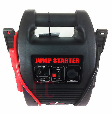 12V Car Battery Booster Heavy Duty Portable Power Pack Jump Starter Start 20Ah