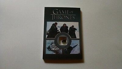 Game of Thrones Season 5 Dragonglass Relic Prop Card DG1  #'d 99/200