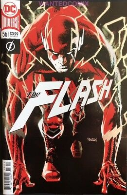 FLASH #56 FOIL COVER OCT 2018 DC COMIC BOOK FASTER THAN TOUGHT part 2 NEW 1