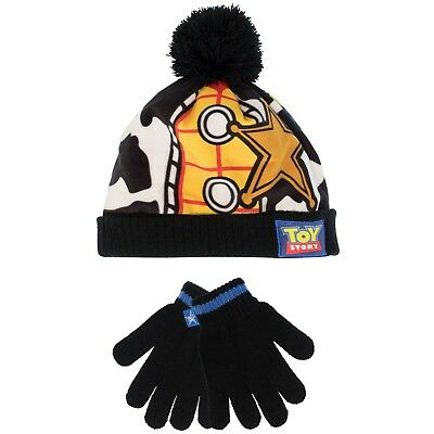 Boys Toy Story Winter Set | Kids Toy Story Hat and Gloves Set | NEW