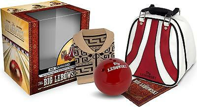 THE BIG LEBOWSKI 20th ANNIVERSARY GIFTSET BRAND NEW SEALED 4K ULTRA HD BLURAY