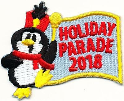 Girl Boy Cub HOLIDAY PARADE Xmas '18 2018 Fun Patches Crests Badges SCOUT GUIDE