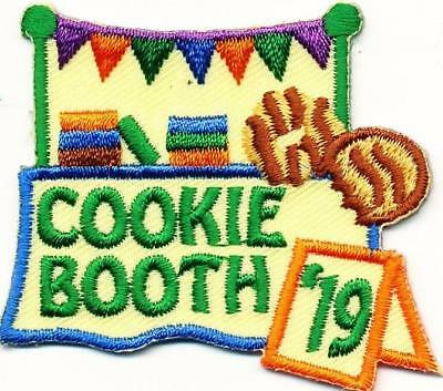 Girl COOKIE BOOTH SALES 2019 '19 Fun Patches Crests Badges SCOUT GUIDE Selling
