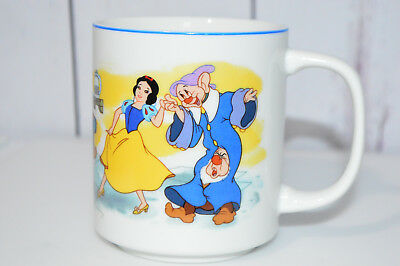 Disneyland Walt Disney World Snow White And The Seven Dwarfs Mug