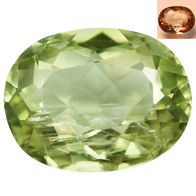 1.63Ct Charming Oval Cut 8 x 6 mm AAA Color Change Turkish Diaspore