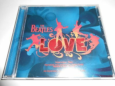 The Beatles Love Interview CD Promo