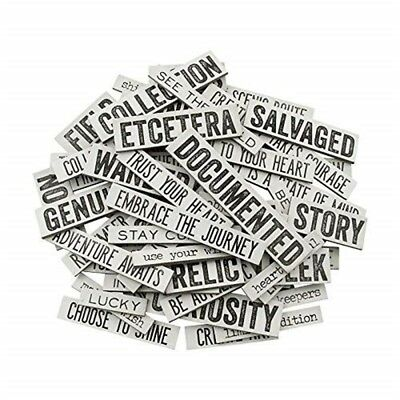 Tim Holtz Idee-ology Zitat Chips Von, Chipboard, 58 Quote Chips (th93563)