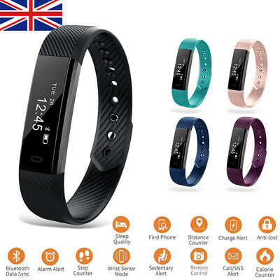 Smart Fit Watch Activity Step Tracker Calorie Bit Counter Bracelet Wristband