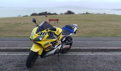 Honda CBR600 F4i Rossi 46 Replica super rare sports bike