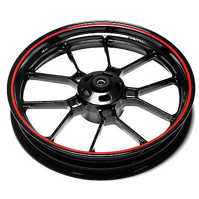 Front Wheel With Red Rim Sinnis RSX 125 ZS125-80 17-18
