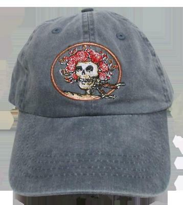 Baseball Hats New Grateful Dead Skull and Roses Embroidered Baseball Hat