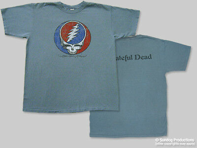T-Shirts New Authentic Mens Grateful Dead Distress Your Face Tee Shirt S-2XL