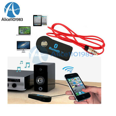 Wireless Bluetooth V3.0 Stereo Music Receiver 3.5mm Audio Cable for CAR PC MP3