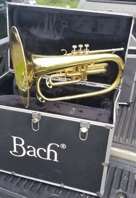Bach B1105  Marching Mellophone With Case 108588
