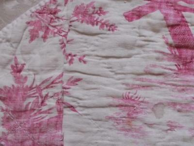 NEW AUTUMN STOCK, 2 FRAGMENTS RARE 18th CENTURY FRENCH TOILE DE JOUY c1790 266.