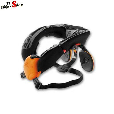 UFO Neck Support System, Neck Brace, Neckbrace in Orange, NSS, für Cross / MX