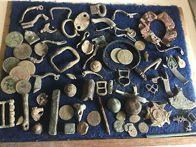 Large Lot Of Metal Detecting Finds