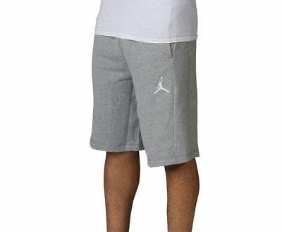 14f991e9f694a6 Men s Size 2Xl Nike Jordan Flight Shorts Gray Heather French Terry 809454  063