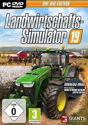 Landwirtschafts Simulator 2019 Pc Dvd Rom Edition 19 Day One Edition Deutsch