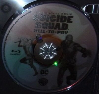 Suicide Squad Hell To Pay Dvd Movie: Dc Universe. Disc Only / No Case. Very Good