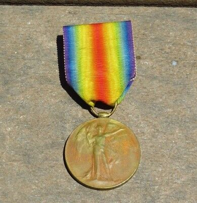 WW1 British Common Wealth Victory Medal R.E. Kent Yeo