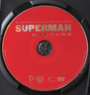 Superman: Unbound  Dvd Movie: Dc Universe. Disc Only /no Case. Adult. Supergirl