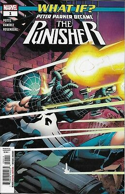 What If Peter Parker Became The Punisher Comic Issue 1 Modern Age First Print